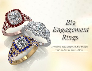 big engagement rings